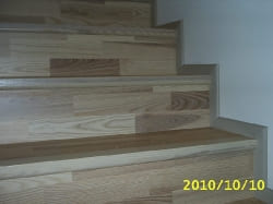 Schody - deska Jesion - Kahrs
